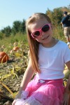 Niece CC at the Cider Mill